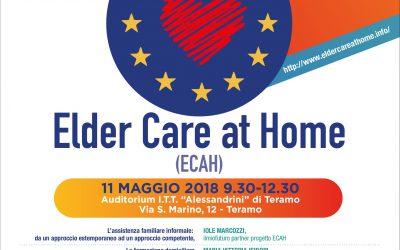 Elder Care At Home: evento finale di disseminazione dei risultati a Teramo