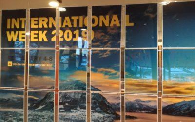 Ilmiofuturo alla Settimana Internazionale dell'Università-College di Volda in Norvegia