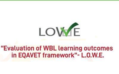 Riconoscimento Buona Prassi per il progetto LOWE