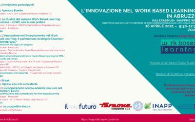 L'innovazione nel Work Based Learning in Abruzzo – Evento